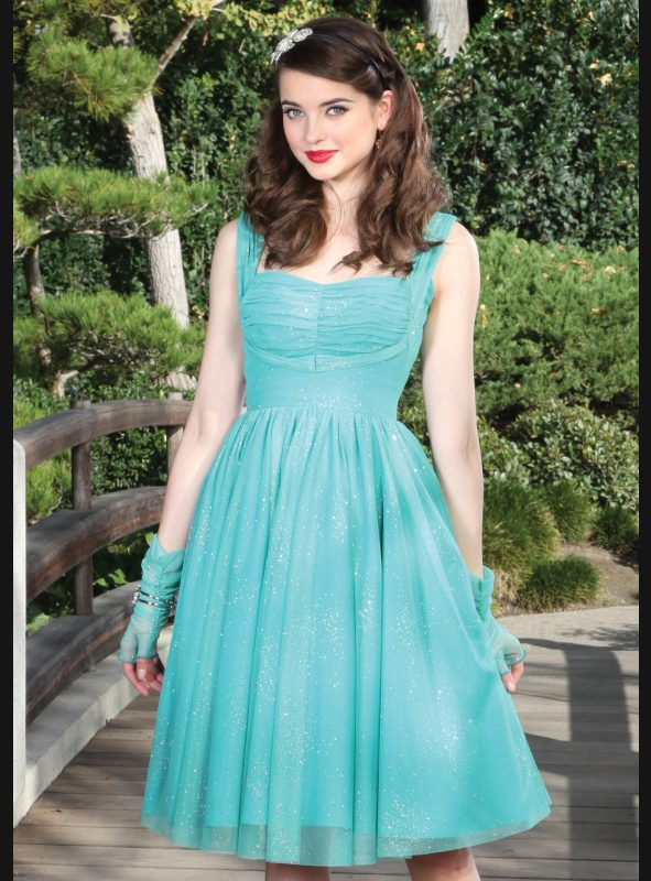DULCINEA SWING DRESS | SEAFOAM GREEN-0