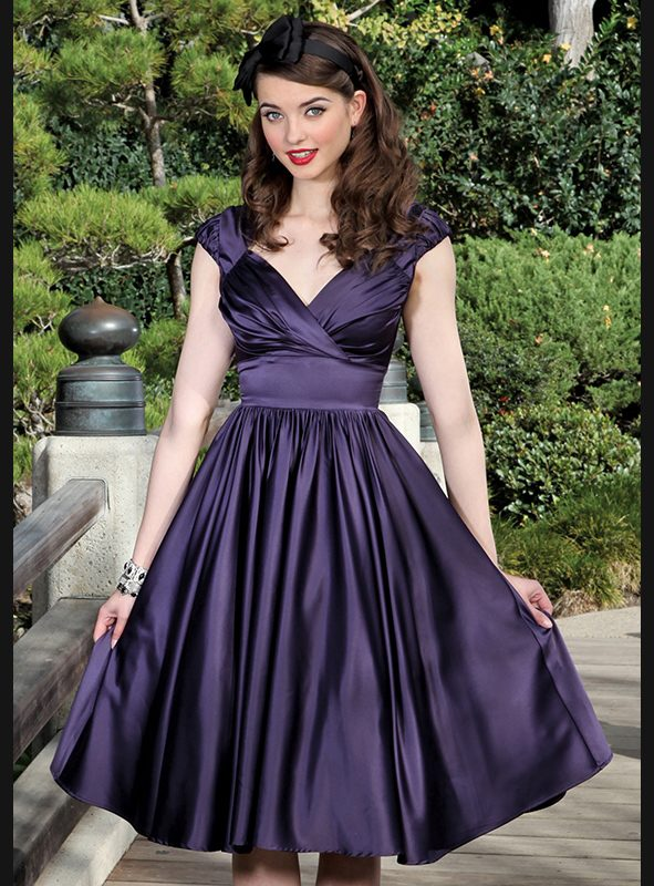 GRACIELA SWING | EGGPLANT SATIN-0