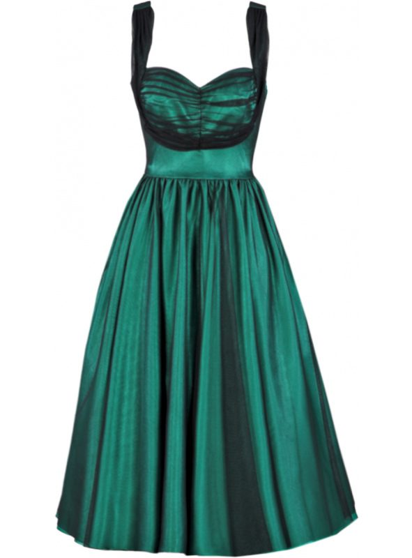 ESMER SWING | GREEN SATIN-0