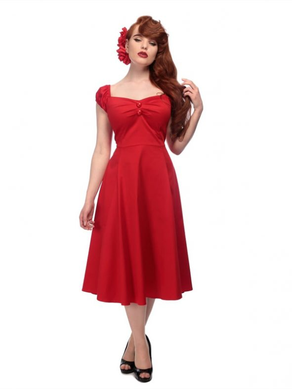DOLORES DOLL CLASSIC | RED-0