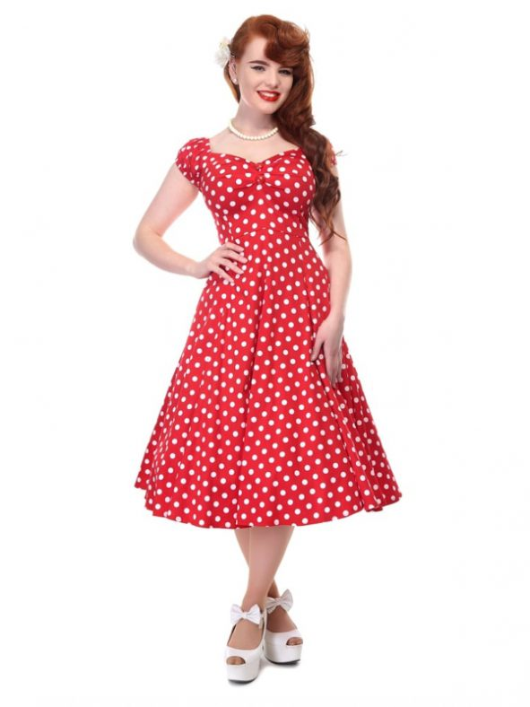 DOLORES DOLL POLKA | RED-0