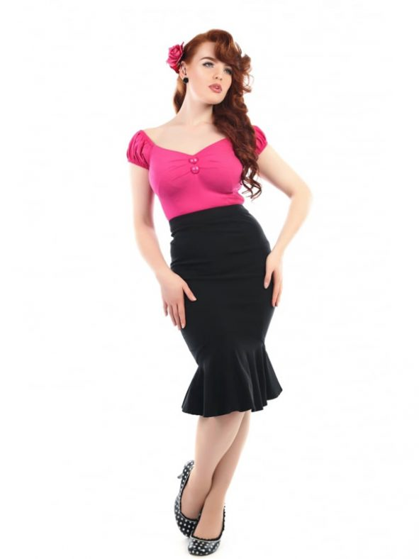 WINIFRED FISHTAIL SKIRT-0