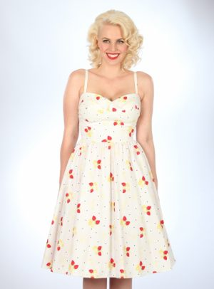 STRAWBERRY SWING DRESS-0