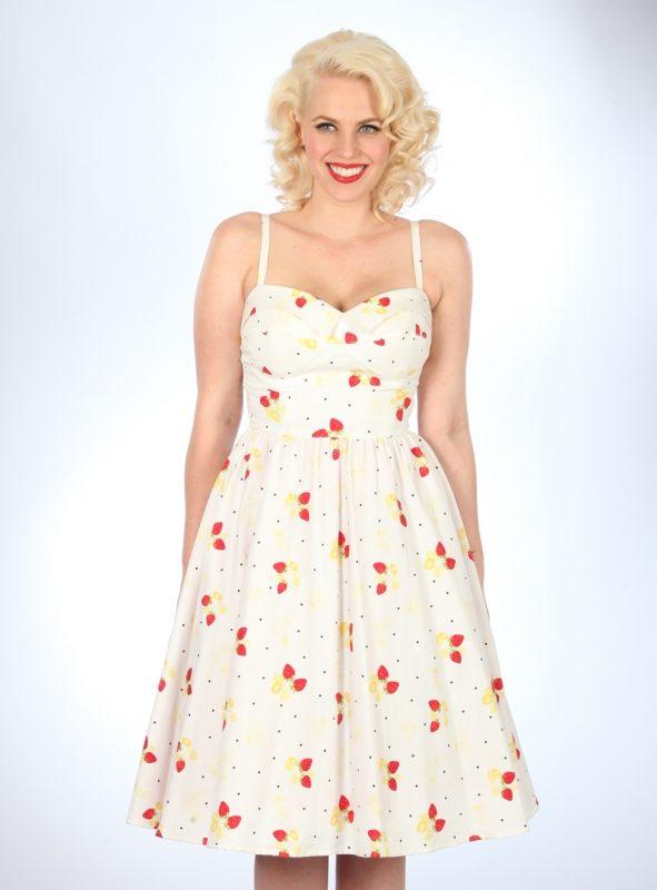 STRAWBERRY SWING DRESS-0