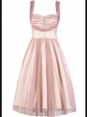 DULCINEA SWING DRESS | PINK-0