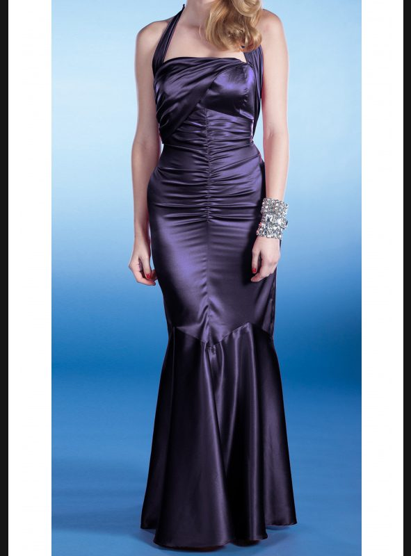 SERENA EVENING DRESS | PURPLE-0