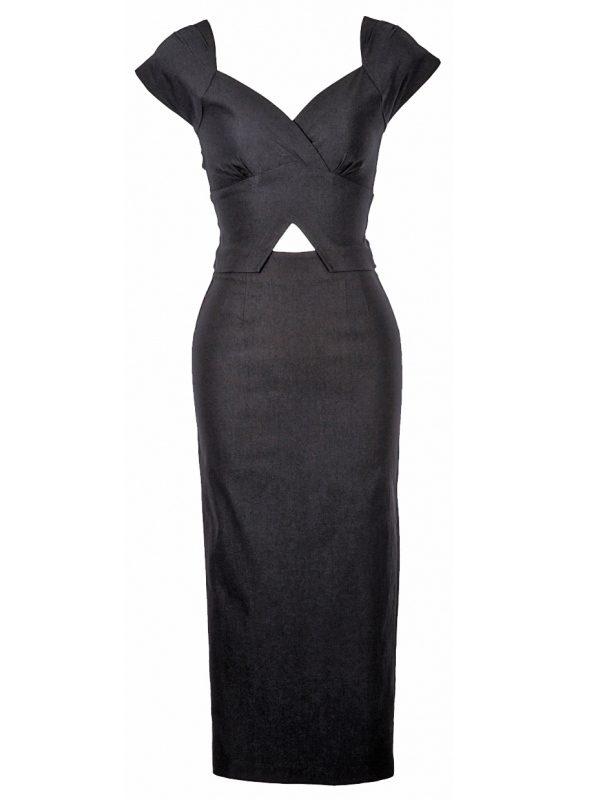 VIDA DRESS | BLACK-0