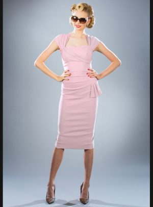 UMA DRESS | SOFT PINK-0