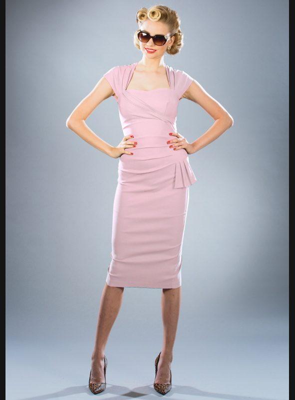 UMA DRESS | SOFT PINK-0