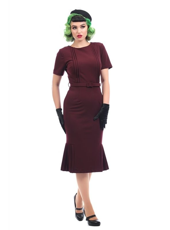 CAMILLE PENCIL DRESS-0
